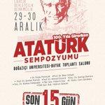 #AtatürkSempozyumu Twitter Photo