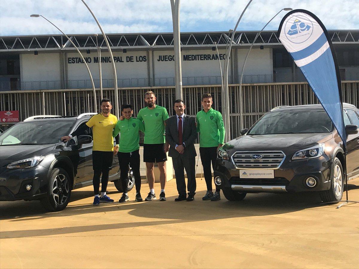 🚗 ¡Os presentamos a nuestros nuevos automóviles Subaru! Gracias a nuestros patrocinadores @APlaycar los nuevos coches están listos para sumar kilómetros junto al equipo.