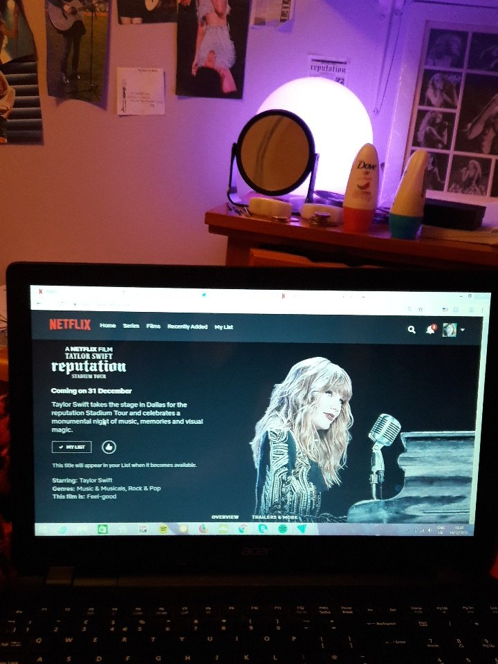 PRO TIP! Add the Taylor Swift reputation Stadium Tour to your