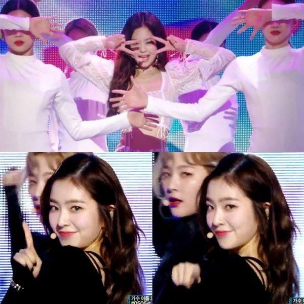 Irene de Red Velvet comparte la historia detrás de por qué intercambió coreografías con #JENNIE en MBC Music Core. 😍@ygofficialblink https://t.co/B6rUittd4K