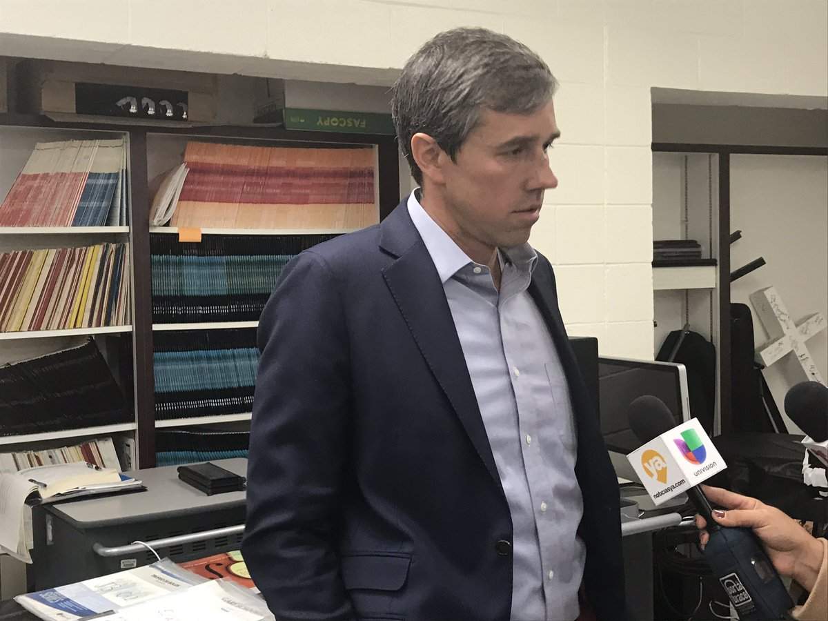 Asked if he's a progressive, @BetoORourke says, 'I don't know.' He's not big on labels, he says