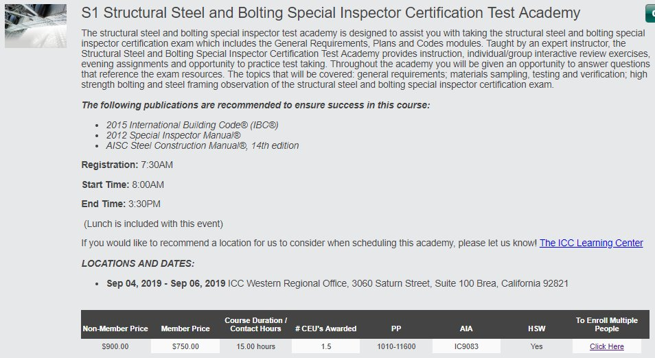 Icc Building Inspector Certification Choice Image Free