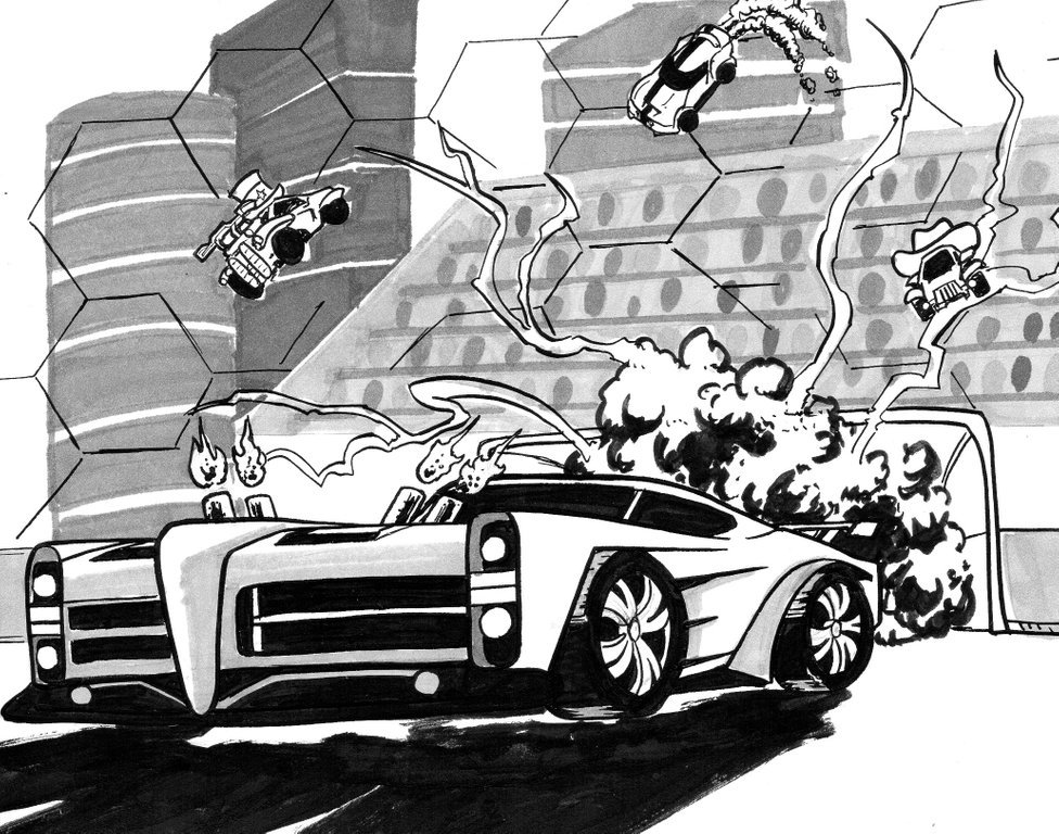 Rocket League On Twitter Check Out These Siiiick Dominus And Octane Drawings From Stray Marks Rlfanart A collection of the top 46 rocket league wallpapers and backgrounds available for download for free. rocket league on twitter check out