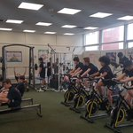Image for the Tweet beginning: @AHS_Year9 students putting in some