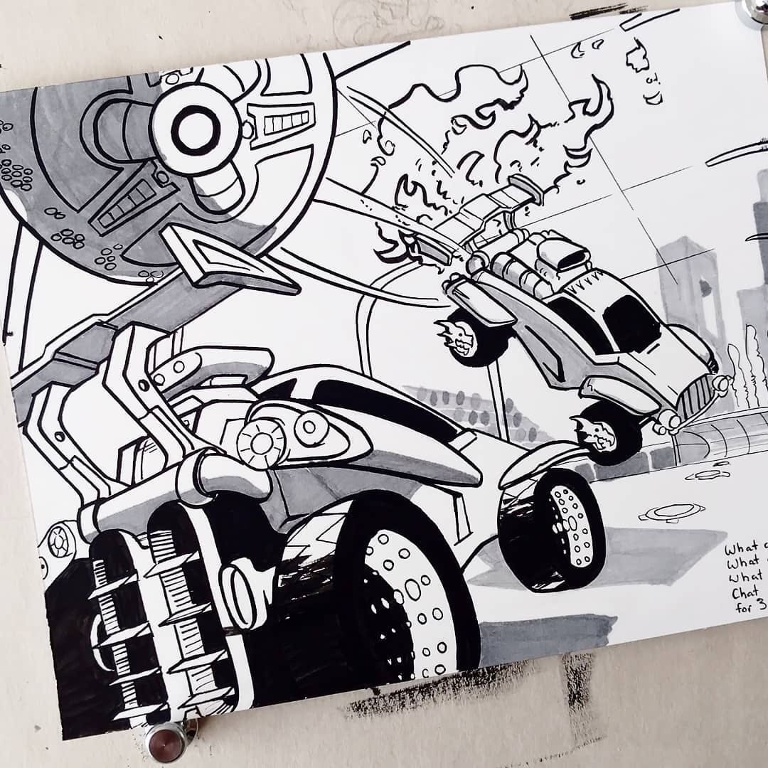 Rocket League On Twitter Check Out These Siiiick Dominus And Octane Drawings From Stray Marks Rlfanart Rocket league car designs garage for all bodies, here you can find the best, fashion, beautiful and cheap rocket league designs, all down to personal taste, there's always a rl car design to impress you. rocket league on twitter check out