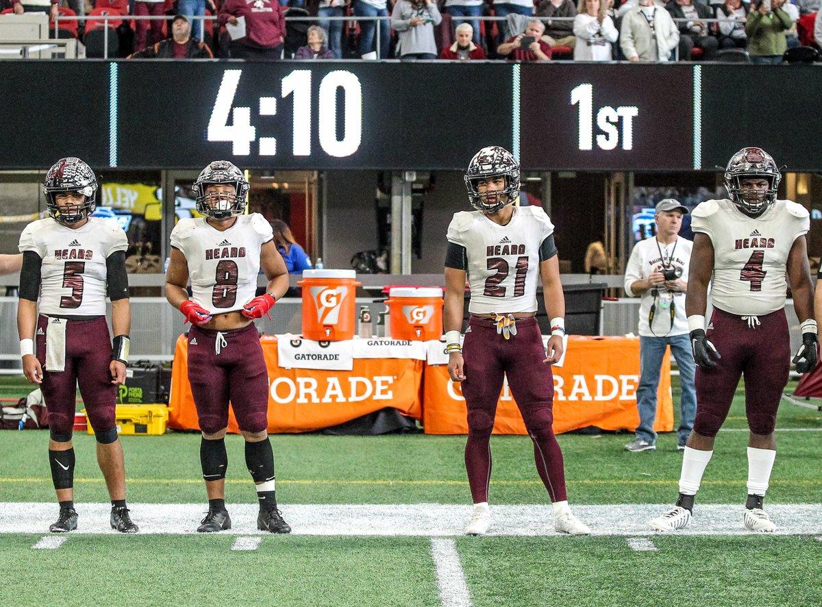 Gatorade was a major 🔑 to our game at the GHSA Football Championships #NothingBeatsGatorade #GatoradePartner