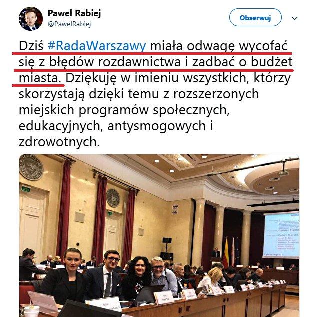 Na wpisie Pawełka, pokaże Wam jak będzie wyglądał wpis o likwidacji 500+ w razie wygranej przez  POKO🤮wyborów w 2019 roku. ⬇️⬇️⬇️⬇️ - Dziś Sejm miała odwagę wycofać się z błędów rozdawnictwa i zadbać o budżet Państwa.....  Dziękuję za uwagę.
