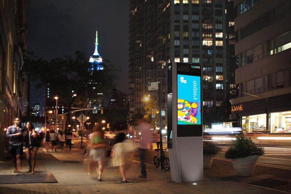 An old-school phone phreak has been making NYC wifi kiosks play creepy