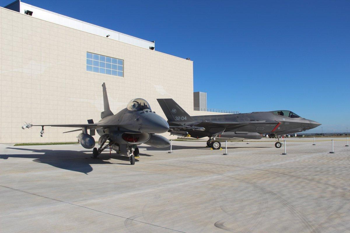 بلجيكا تختار مقاتلات إف-35 من لوكهيد مارتن لإحلال مقاتلاتها القديمة DuZie6oWkAMacJt