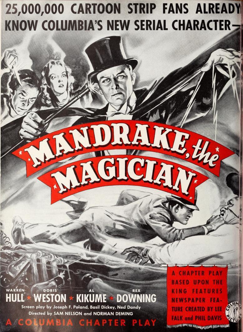 "Hill Illustration on Twitter: ""MANDRAKE THE MAGICIAN - 1939 ..."