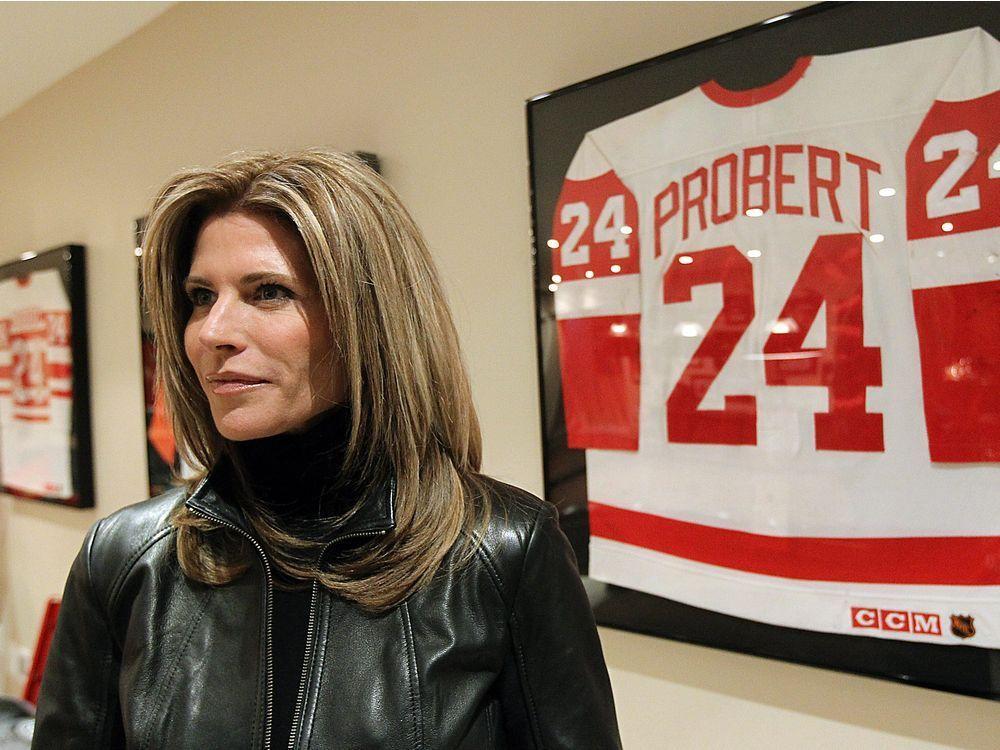 Dani Probert emotional preparing for #documentary on #NHL tough guy Bob Probert https://t.co/9H0HCl2XM8