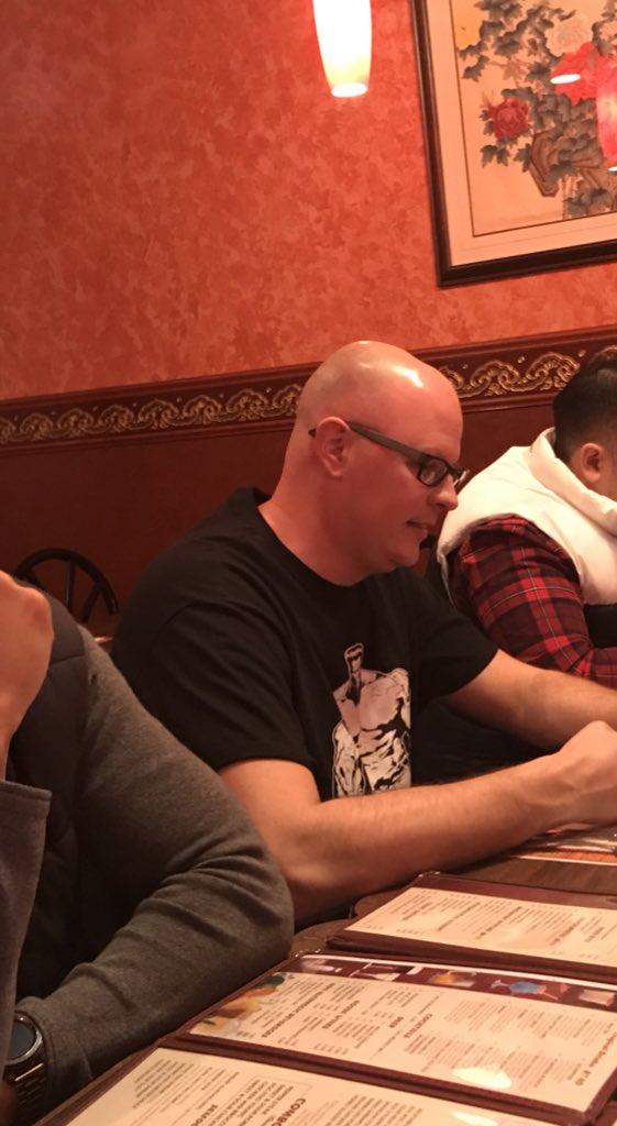 @notthefakeSVP Stopped for Chinese food at lunch, and I see @notthefakeSVP enjoying some egg drop soup!  Getting energized for @SportsCenter  #TheFakeSVP #ESPN https://t.co/B1Cfsg9qZe