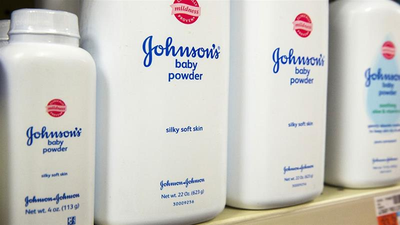 Johnson & Johnson stocks plunge after report says firm knew for decades that cancer-causing asbestos lurked in its Baby Powder https://t.co/2rTezcI1UT