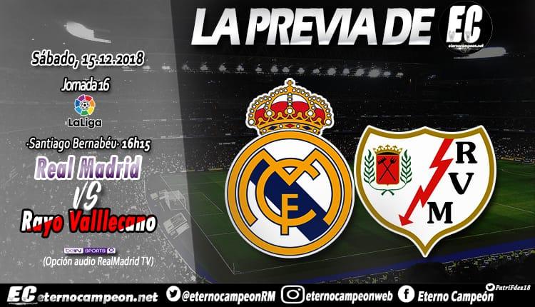 Previa | Real Madrid - Rayo Vallecano http://eternocampeon.net/previa-real-madrid-rayo-vallecano… Por: @Cristian25_SP Diseño: @PatriFdez18 #RMLiga #HalaMadrid #LaLiga