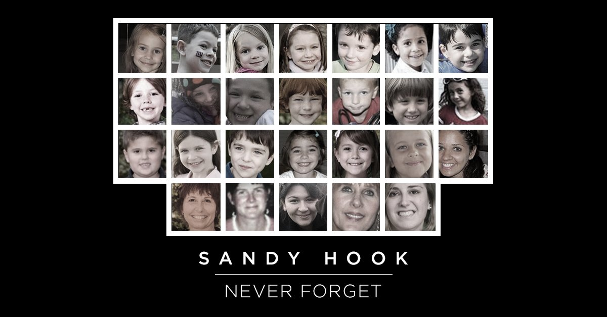 Twenty-six lives gone too soon.  Since this horrific day, there have been too many shootings in our schools. For the sake of our children and our communities, Congress needs to pass reasonable gun safety reforms.