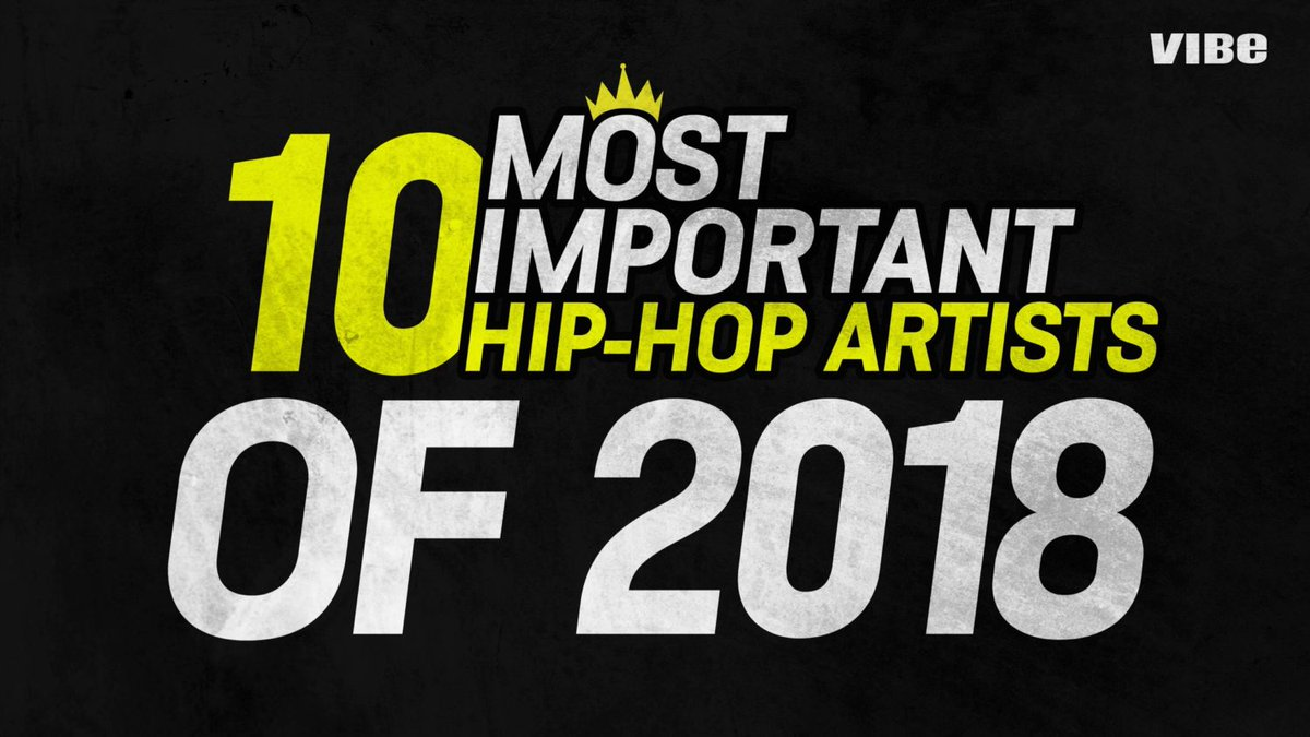 From @xxxtentacion to @iamcardib, @JColeNC, and @kanyewest, we've narrowed down the 10 most important hip-hop artists of 2018...   Feel free to argue about it, just make sure you read it first  https://t.co/lmeaLsgd9b