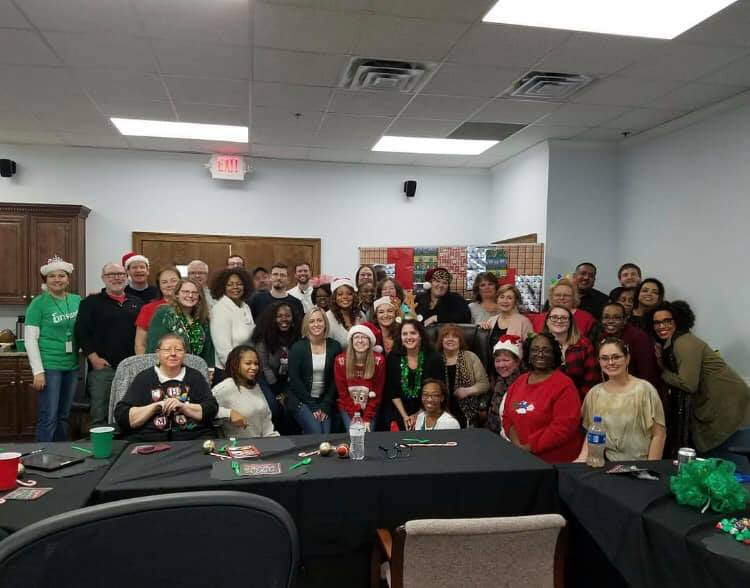 We had a big group at our GA811 company Christmas party! #jinglealltheway #IAM811 #Georgia811…
