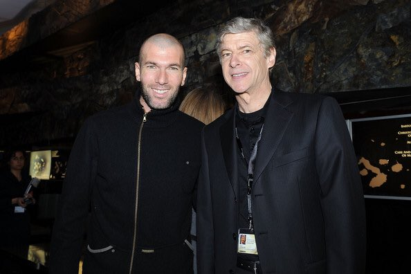 "Arsene Wenger: ""If you want to work at the top, it has to be in England. Zidane was at the best team in the world, now, he can only go to the second best team."""