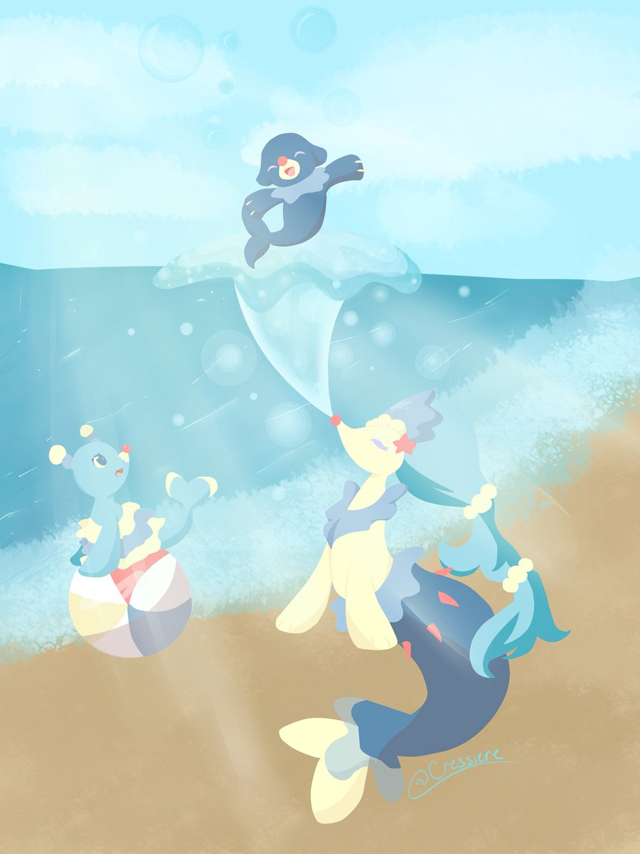 One Of My Best Pieces Pokemon Popplio Brionne Primarina