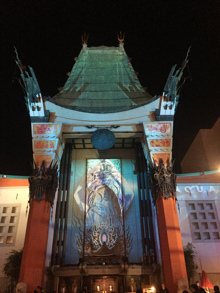 Tcl Chinese Theatres على تويتر Aquamanmovie 3d Projection Mapping Show By Christiedigital Starts Nightly At 6 Pm Aquaman Is Now Showing In Imax With Laser Click For Showtimes Tickets Imax