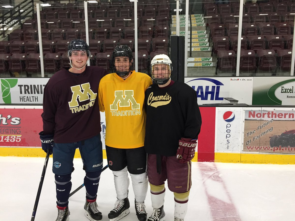 Minot High Hockey On Twitter Great Having Guest Coaches Morelli