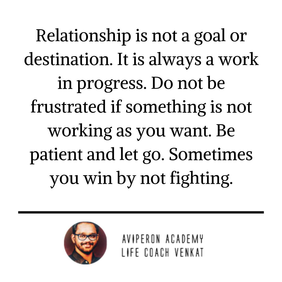 what to do when relationships are not working
