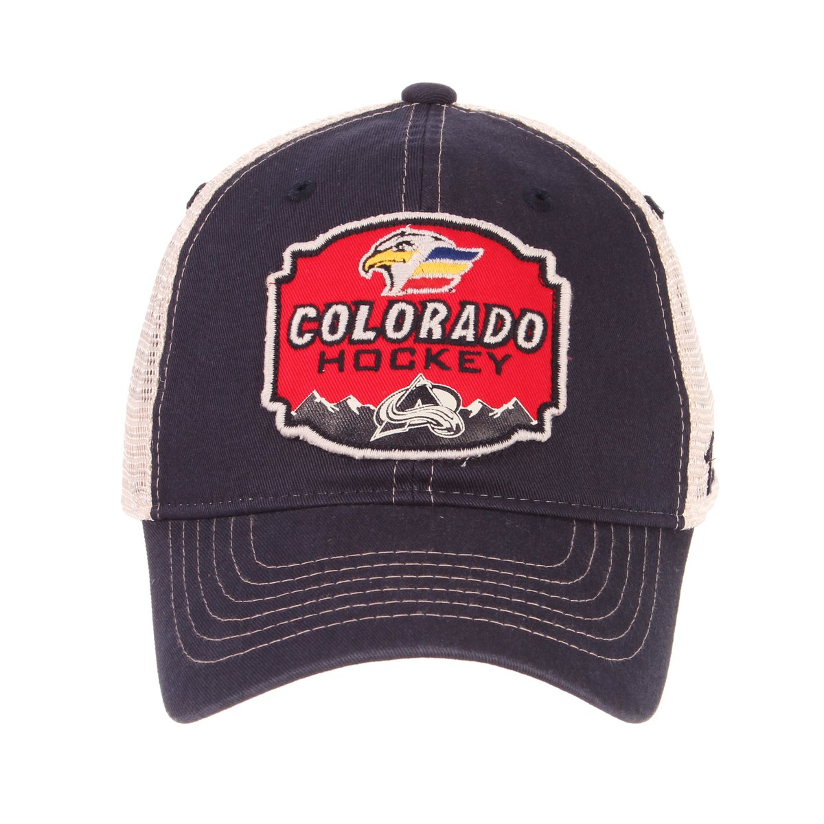 best service d3b39 2c372 Colorado Avalanche and Zephyr Headwear