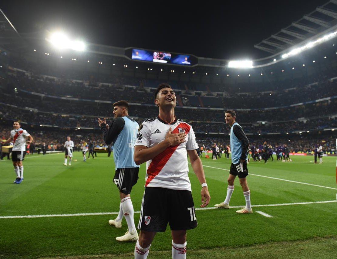Gonzalo Martínez en los últimos cinco Superclásicos:  3️⃣ Goles ⚽️ 2️⃣ Asistencias 🎯 2️⃣ Copas 🏆  👉🏽🤪