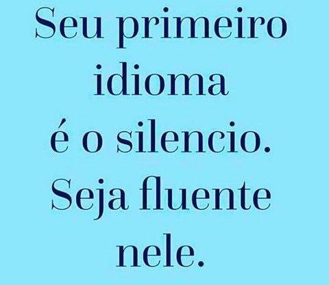 #Só  fale quando tiver certeza!