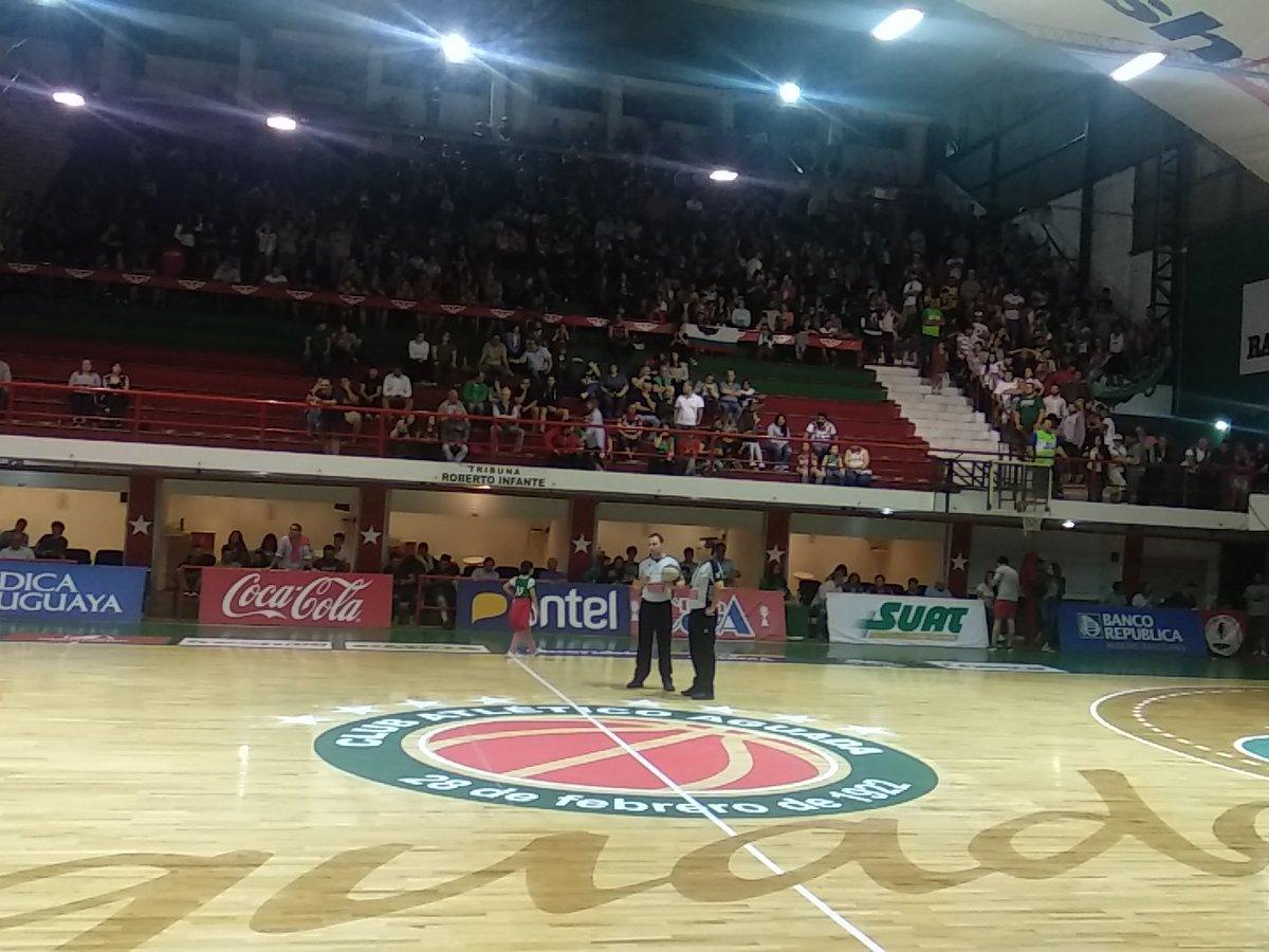 #LUB | Final del 3C: @Aguada_oficial 77 Vs. @Club_Atenas 73. seguinos en vivo por http://sport890.com.uy