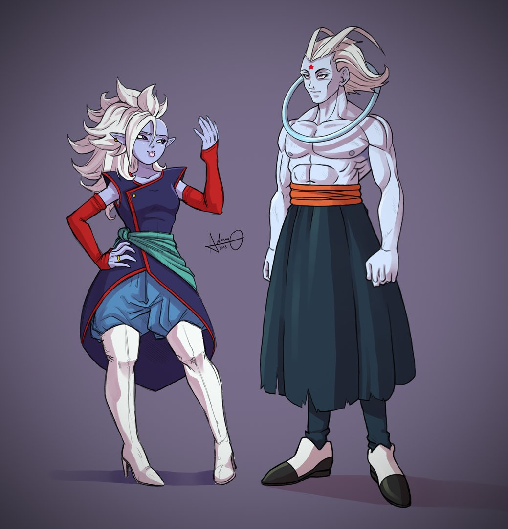 I Have No Name For The Female Supreme Kai Attendant Yet But Angel Is Called Jinto Coming From Gin Tonic