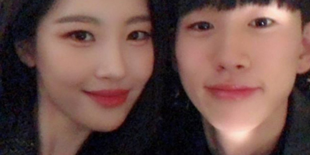 Sunmi shares an adorable selfie with her younger brother https://t.co/iRy7NQRMm7