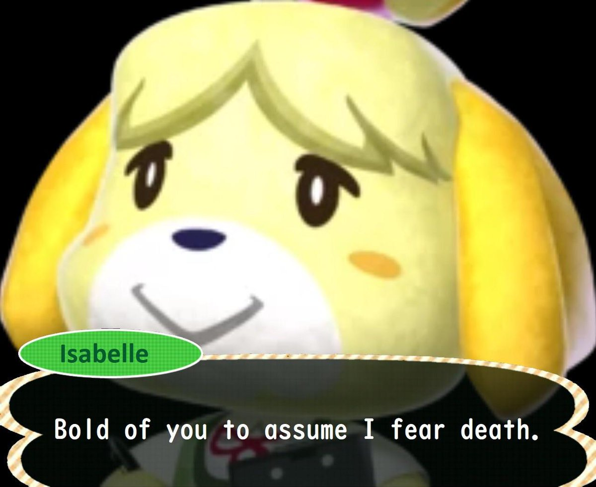 Don't you DARE hurt Isabelle in Smash. Don't you do it.  New @PolygonShow: 🥊 Smash Bros. Ultimate Edition 🥊 https://t.co/n5y0K97QNC