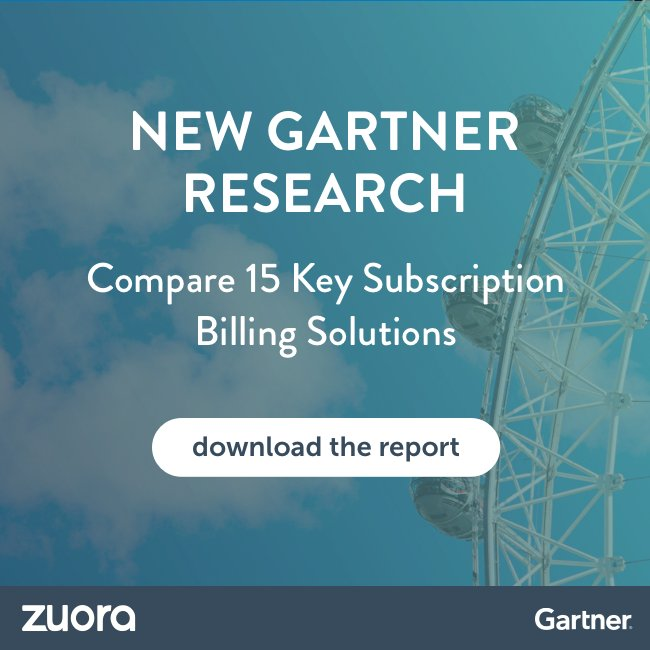 Read Gartner's first 'Competitive Landscape Report for Subscription and Recurring Billing Management' to find out the latest trends & key vendors   #subscriptionbilling#recurringbillinghttps://t.co/pvD0YUdydr