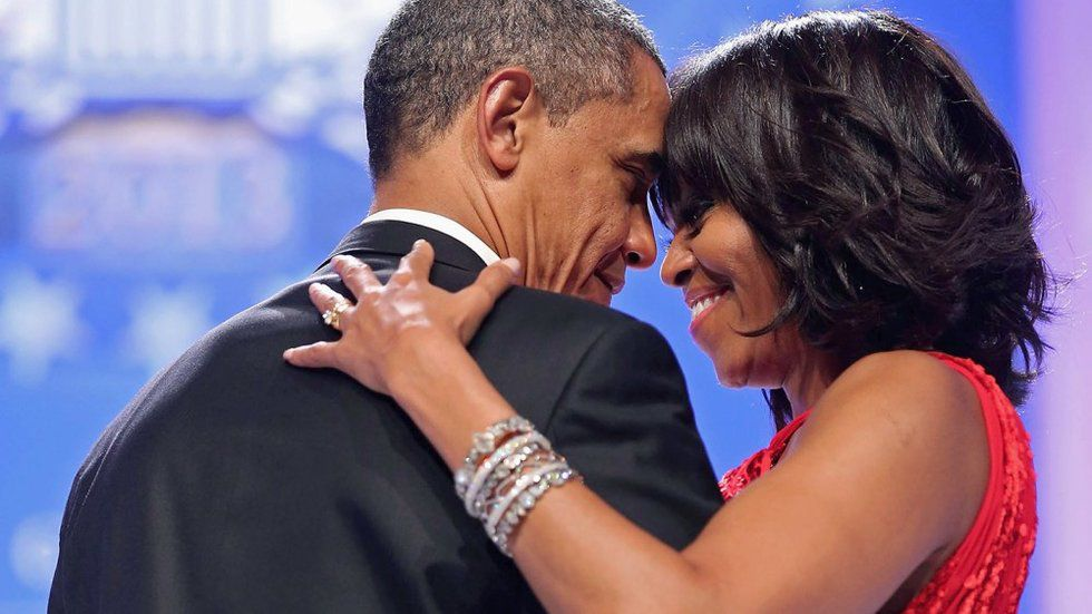 Michelle Obama Says If You Are Looking For A Barack, You Should Try Not Looking So Damn Hard https://t.co/Vm8Ru3eJT2