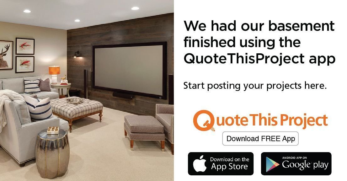 Get all of your #repairs done with one #app! Download the #free #QuoteThisProject #app today, and complete your projects today! https://buff.ly/2tBD2Ep    #homeimprovement #homerenovation #Toronto #Vaughan #the6ix #Brampton #Mississauga #Scarborough #design #kitchen #flooring