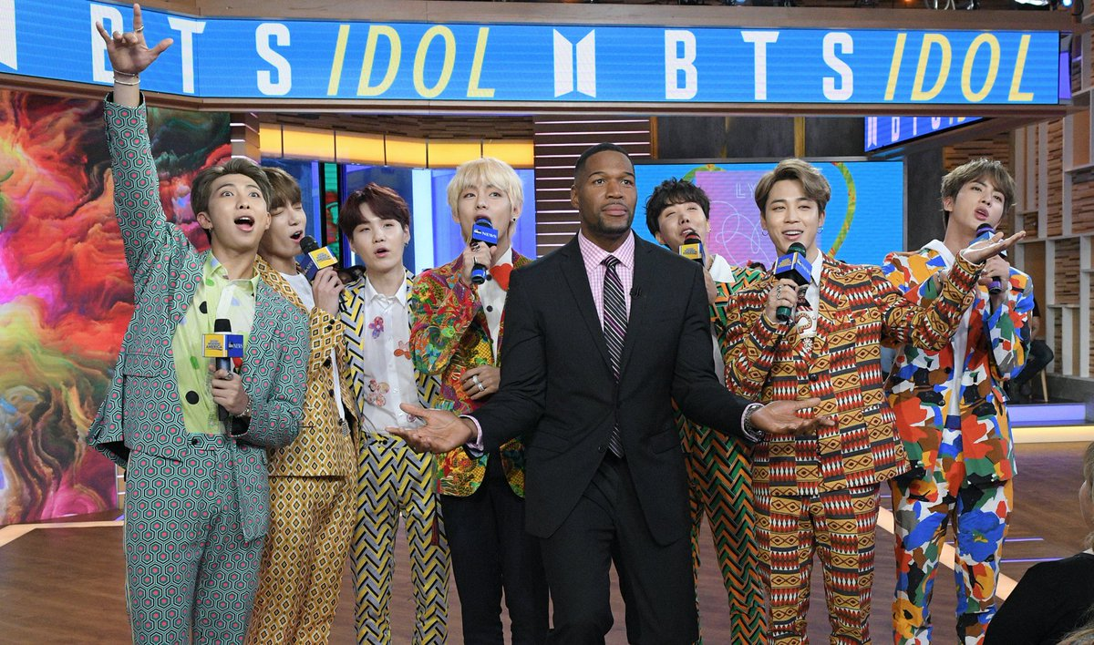 THIS made our year 💜 It was the biggest music event on @GMA in 2018, possibly EVER.   💜 #ThankYouBTS 💜  @BTS_twt #BTS #ARMY  #BTSonGMAohttps://t.co/cDchRhiA0LnGMA