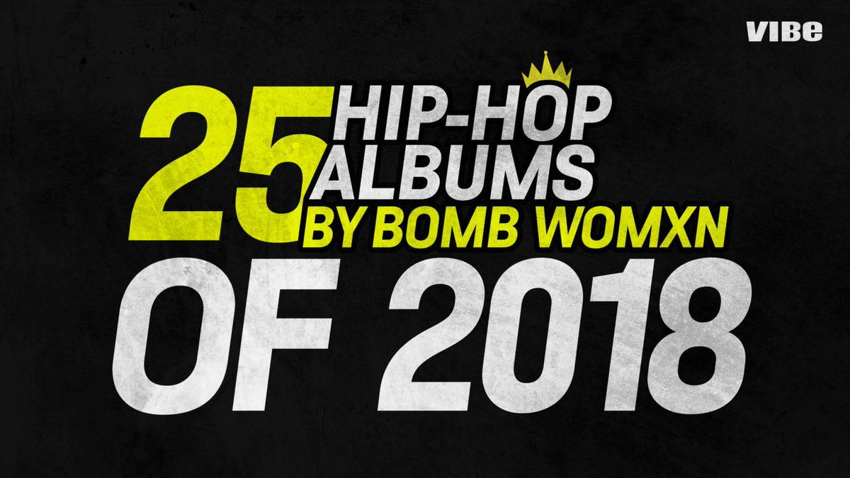 @noname  @TierraWhack. @Rico_nastyy, ,  all made our list for best female rap albums of 2018. Who's your top pick on this lhttps://t.co/wb7E59JwIVist?