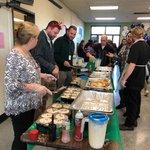 Image for the Tweet beginning: Burncoat High school pancake breakfast