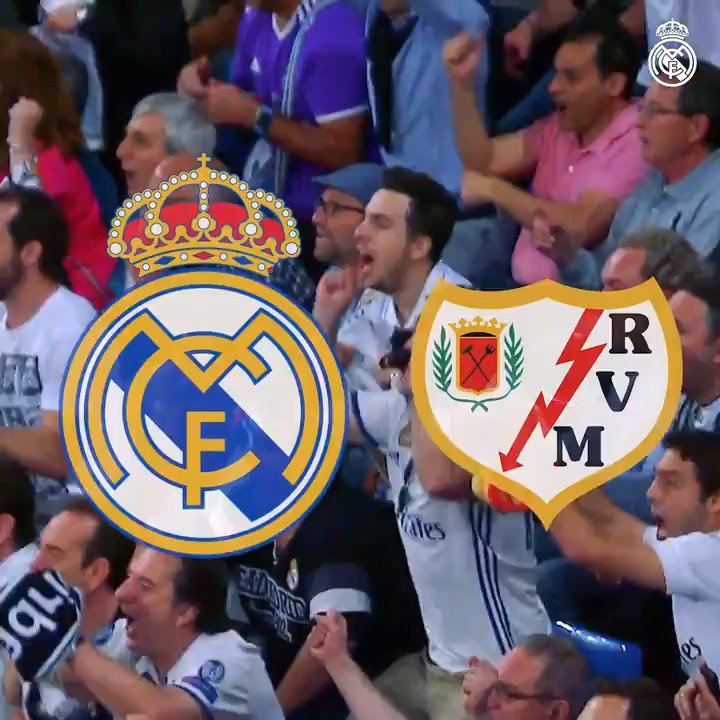 🙌 IT'S MATCHDAY! 🙌 🆚 @RayoVallecano 🏟 Santiago Bernabéu ⏰ 18:30 CET 🏆 LaLiga  #⃣ #RMLiga