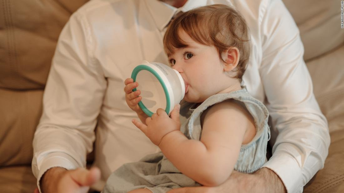 A tired dad and his hungry infant led to a radical new baby bottle https://cnn.it/2S3uQrd
