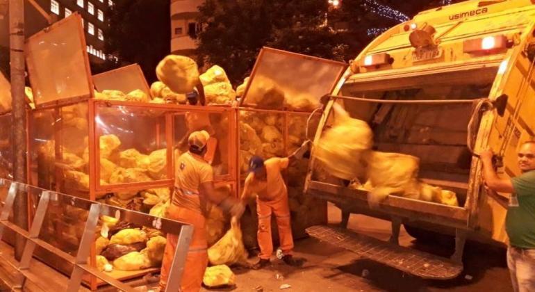 Quantidade de lixo na praça Sete aumenta 110% em relação a 2017 #lixometro #praçasete #bh https://t.co/oDu9XQNT8j