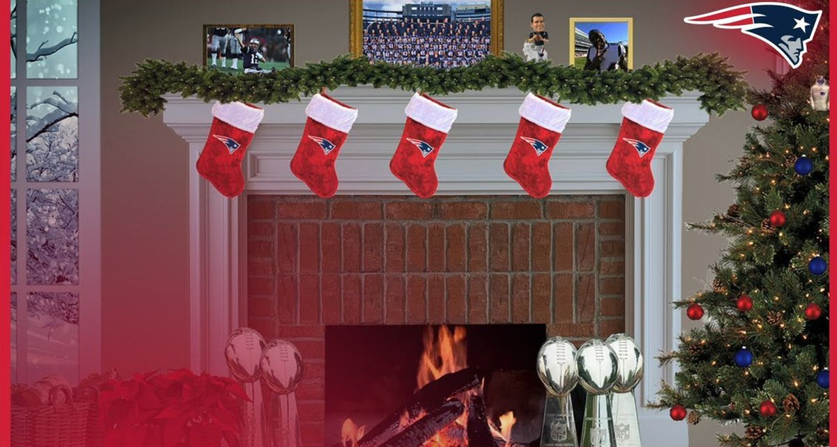 test Twitter Media - Get in the holiday spirit this weekend with our #Patriots yule log: https://t.co/KBTWLykzES https://t.co/yCgbzybF1s