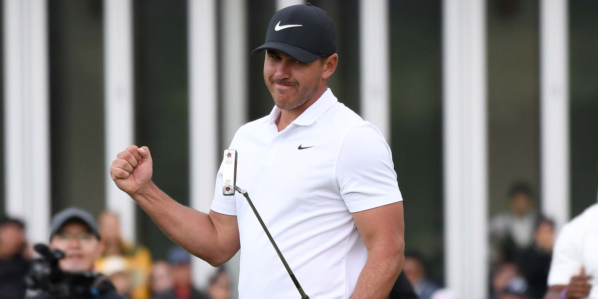 """""""Three majors at 28, it's a cool feeling. It really is.""""  Brooks Koepka is one of just four players who have won both the U.S. Open and the PGA Championship in the same year.  His story is one of the best of 2018:  http:// glfdig.st/CcUbAvx  &nbsp;  <br>http://pic.twitter.com/mUJhRxHlAv"""
