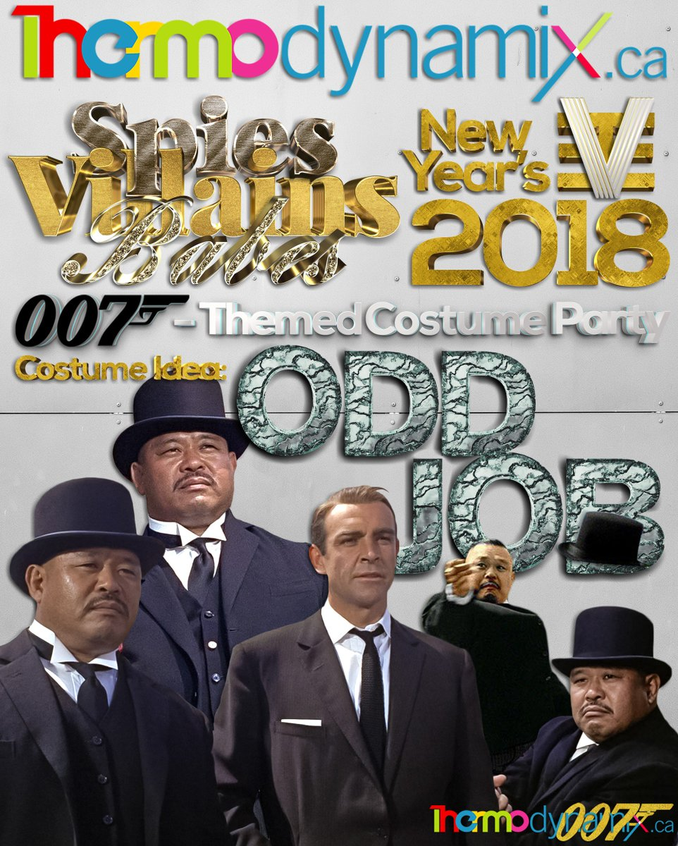 SPIES, VILLAINS & BABES - NYE2018‼️  007-Themed New Year's Eve Bash‼️  Costume Idea: OddJob‼️  $30 - OPEN BAR ALL NIGHT‼️  #thermodynamix #toronto #newyearseve #newyearsevetoronto #nyetoronto #nye2018 #nyetoronto2018 #the6ix #nye #newyearseve2018 #newyearstoronto #torontoevents
