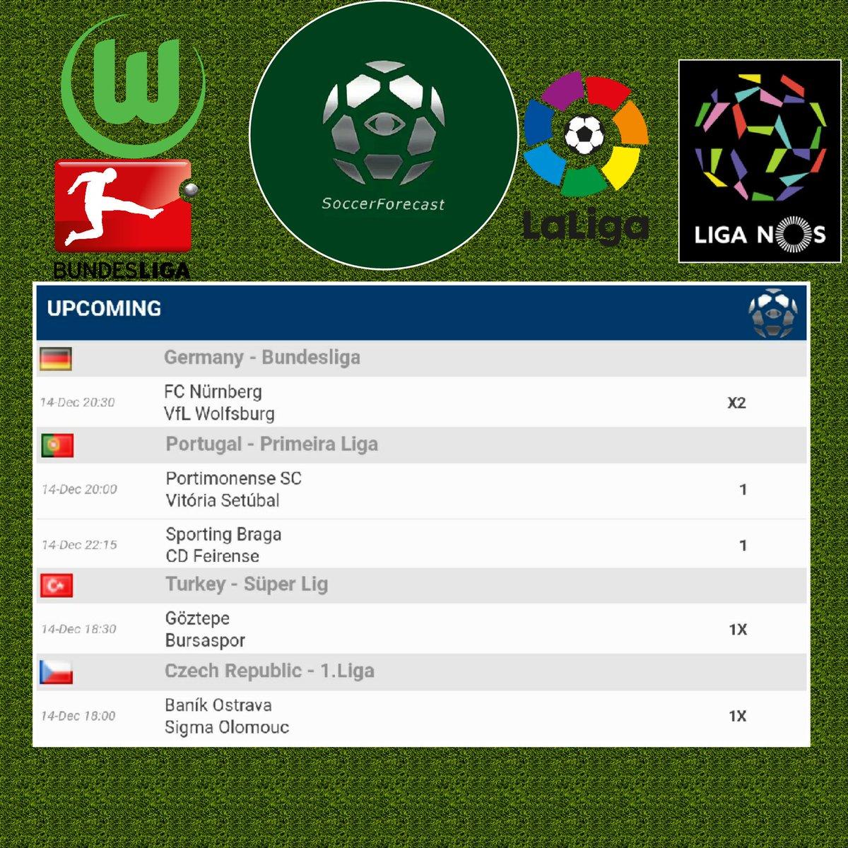 Today's correct forecasts! Subscribe to us on http://www.patreon.com/soccerforecast for exclusive forecasts! #soccer #football #足球 #Apple #Android #iOS #calcio #Patreon #Bundesliga #LigaNOS #Portimonense #braga #Goeztepe #Bursaspor #Czech