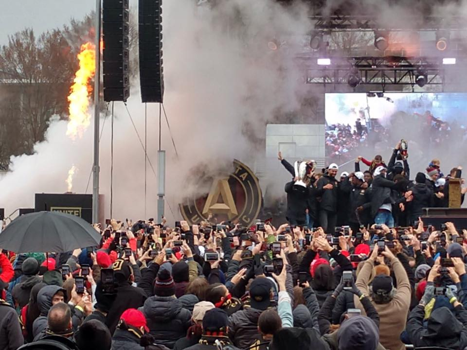 .@ATLUTD winning #MLSCup gave @CityofAtlanta a reason to celebrate. Here is our wrap up for #ATL26 : https://vimeo.com/306461281  @KeishaBottoms @keithwhitney @marvaclewis @ATLCouncil @Atlanta_Police @Harris_LaNese @RisseScineaux @EventsMathes @BlankFoundation @samcrenshaw23