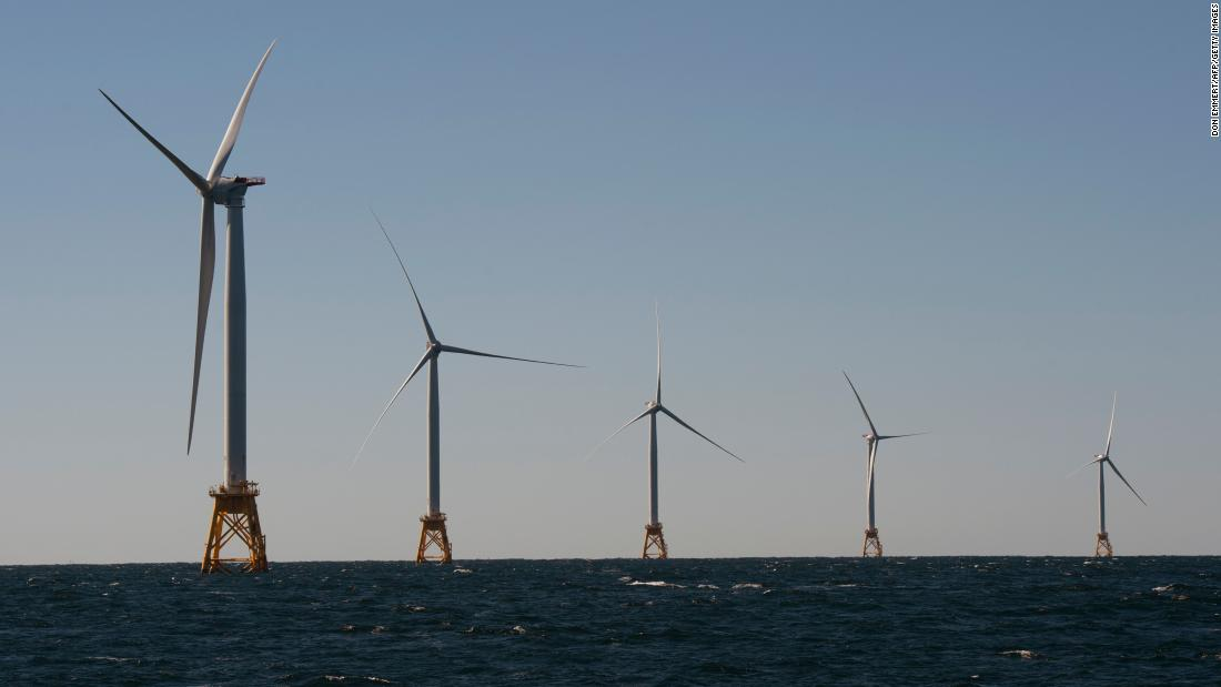 The rights to establish wind farms off the Massachusetts coast sold for a record-setting $405 million total, according to federal officials https://cnn.it/2Ewdjoy