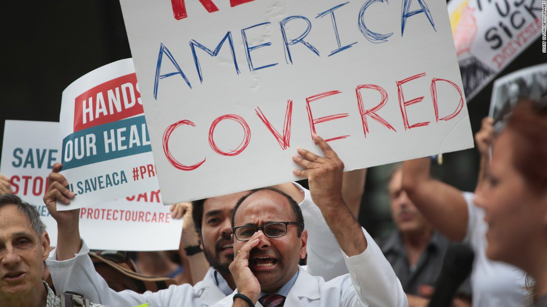 A federal judge in Texas rules that the Affordable Care Act's individual mandate is unconstitutional, saying the rest of the law must also fall https://cnn.it/2SMJlzO