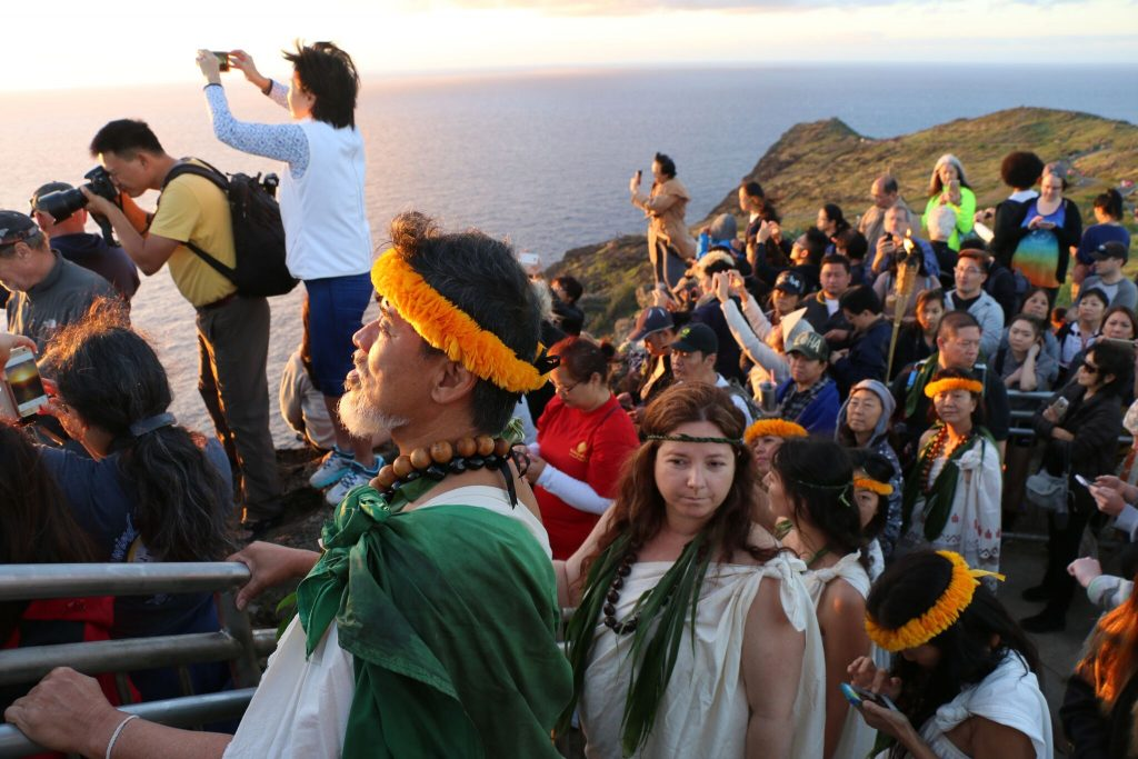 Health, hike and culture combine for the annual First Day Hike on the Makapu'u Light House Trail at the Kaiwi State Scenic Shoreline on O'ahu. It's arguably the most unique of the nearly 1,200 hikes in America's State Parks each New Year's Day. http://dlnr.hawaii.gov/blog/2018/12/14/nr18-237/…
